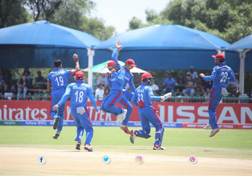 تیم ملی کرکت افغانستان در برابر تیم آیرلند به پیروزی رسید